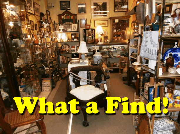 There's always a Special Find at Frazer Antiques