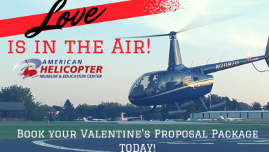 AHMEC Valentines Day Proposal Package Helicopter Rides