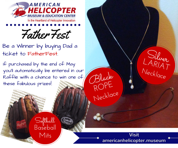 FatherFest 2016 at American Helicopter Museum