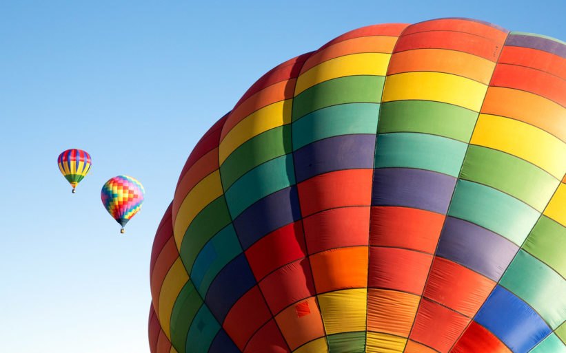 Welcome to the 13th Annual Chester County Balloon Festival at New Garden Flying Field!