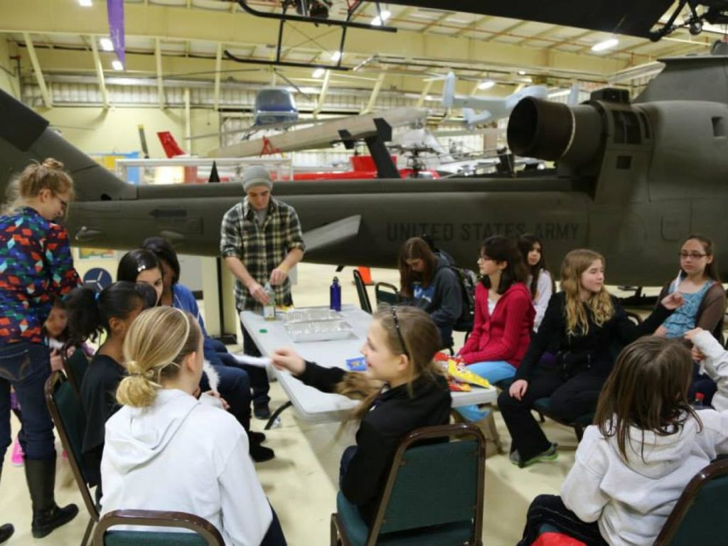 GIST program at American Helicopter Museum