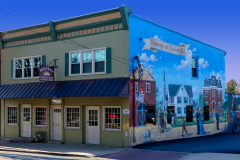 Malvern Pizza and Beer and the Malvern Borough mural
