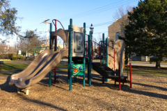 Play area in Burke Park
