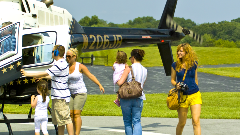 Chopper Rides at American Helicopter Museum & Education Center