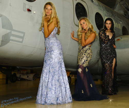 Sorella's fun fashion shoot at American Helicopter Museum with MainLineBiz.com