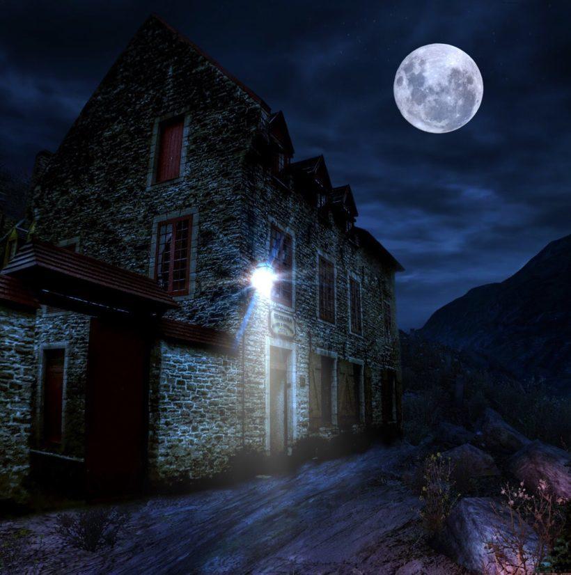Historic Sugartown by lantern light