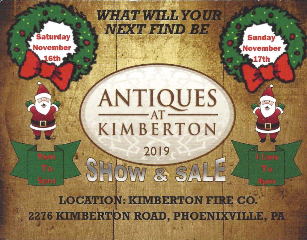 Antiques at Kimberton 2019