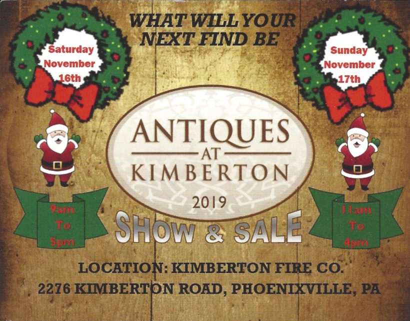 Antiques at Kimberton 2019