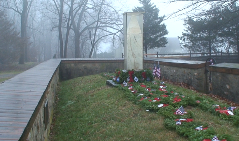 Wreaths Across America at Paoli Battlefield