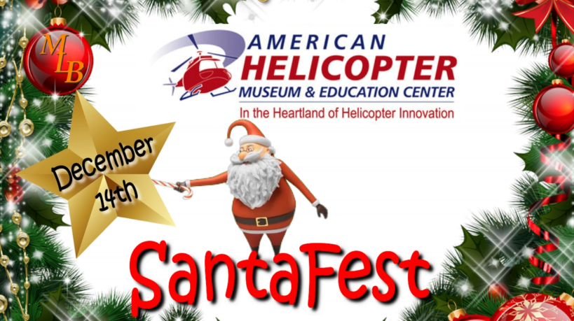 SantaFest at American Helicopter Museum